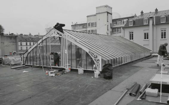 Réhabilitation du showroom Asics à Paris