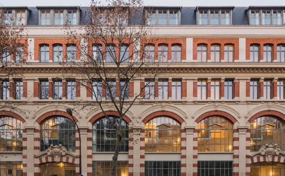 Réhabilitation d'un immeuble industriel à Paris