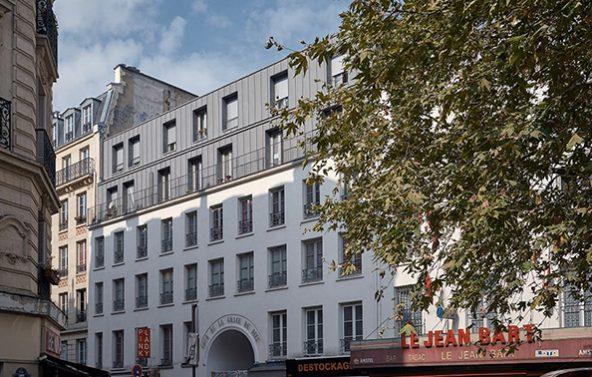 Réhabilitation d'un ensemble immobilier à Paris